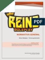 NORMATIVA GENERAL - REINO ROLEPLAY