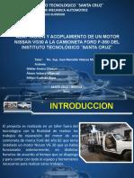 Adaptación y Acoplamiento de Un Motor Nissan