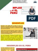 DESEMPLEO EN EL PERÚ 2021