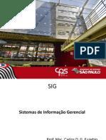 SIG - Sistemas de Informação Gerencial