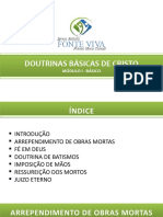 02.DOUTRINAS BÁSICAS DE CRISTO