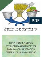 Nueva Estructura Para Chapingo, mzo 2010