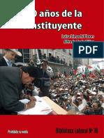 Biblioteca Laboral Nº16 a 10 Años de La Constituyente