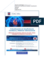 [HOY 19 HS] Semana de La Insuficiencia Cardiaca Actualización y Webinar Internacional