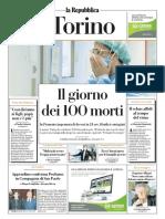 La Repubblica Torino 03 Aprile 2020