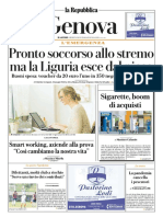 La Repubblica Genova 01 Aprile 2020