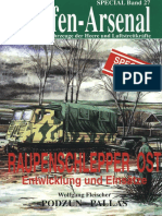 WASp27 - Raupenschlepper Ost - Entwicklung und Einsätze