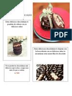 chocolatinas draco