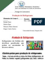GRUPO 1 - Produção de Refrigerante