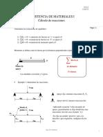 RESISTENCIA DE MATERIALES I CLASE #7