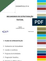 OFICINA GRAMATICAL - MECANISMO DE ESTRUTURACAO TEXTUAL (1)