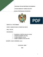 GRUPO 1 El Íter Criminis en El Código Penal Peruano.