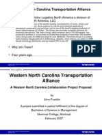 WNC Transportation Alliance, Industrial Executives Forum 03.24.2011