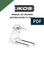 Manual Do Usuário Esteira Kikos Ts 7305 Fi