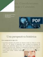 CONSIDERACIONES HISTÓRICAS Y CULTURALES