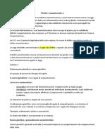 diritto amministrativo appunti