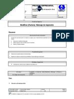 BPP-SD-VV32-  Modificar  Mensaje de impresion (Factura)