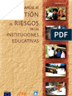 MANUAL DE GESTIÓN DE RIESGOS CENTROS EDUCATIVOS