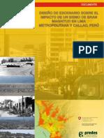 Diseño de escenario sobre el impacto de un sismo de gran magnitud en Lima