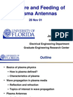Care and Feeding of Plasma Antennas