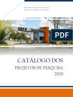Catalogo Projetos de Pesquisa 2020 FINAL