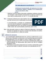 dc - direitos individuais e coletivos - resumo - aula 3