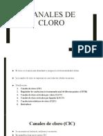Canales de cloro