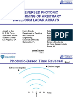 Time Reversed Photonic Beam Forming of Arbitrary Waveform Ladar Arrays Final