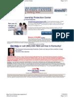 Kentucky Homeownership Protection Center