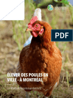 Urban Agriculture Laboratory report on urban chickens