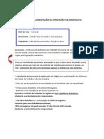 Grupo II - REGULAMENTAÇÃO DA PROF DE AERONAUTA