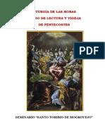 liturgia de las horas y vigilia pentecostes