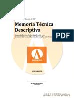 MemoriaTecnico Descriptiva Bucerias