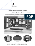Smartpack Modula Robes April 2011