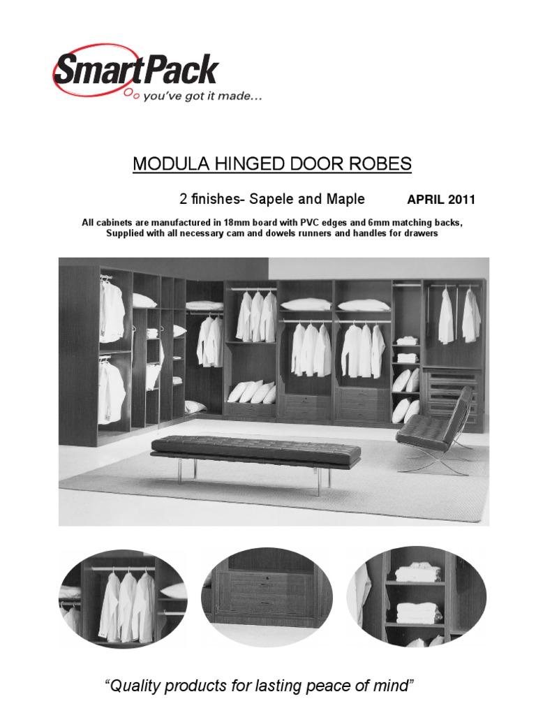 Smartpack Modula Robes April 2011 | Architectural Elements ...