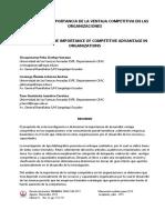 TALLER-Importancia de la_Ventaja Competitiva en las Organizaciones