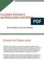 Classes sociais e Materialismo histórico Correto