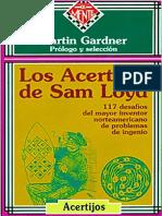 Acertijos de Sam Loyd. Gardner, Martin