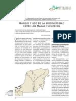Manejo y Uso de La Biodiversidad Entre Los Mayas Yucatecos