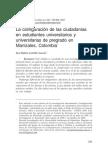 configuración de ciudadanías en estudiantes universitarios
