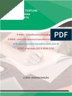 O Caso da Cervejaria Artesanal Puro Vigor. Produção textual interdisciplinar em Grupo/Individual (PTG) (PTI) Administração Semestre 7º / 8º. (66) 9.9694-5762.