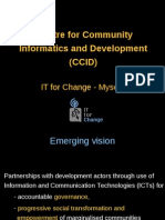 Centre for Community Informatics and Development