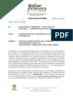 Liquidacion y Medios de Pago Habilitados Contingencia Covid19