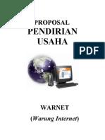 proposal usaha warnet teknologi IT2