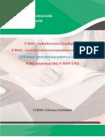 Estágio Supervisionado Adaptado – Covid. Produção Textual Interdisciplinar individual (PTI) 8 semestres. (66) 9.9694-5762.