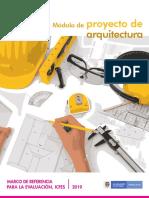 Marco de referencia - modulo de proyecto de arquitectura