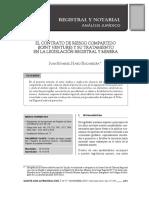 CONTRATO MINERO DE RIESGO COMPARTIDO