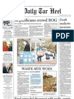 The Daily Tar Heel for March 31, 2011