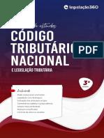 Código Tributário Nacional e Legislação Tributária