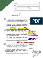 COMPRESION DE TEXTOS - TERCERO